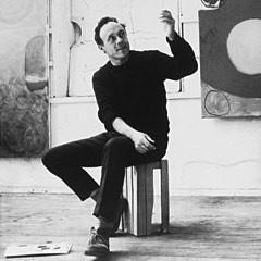 Paintings by the artist Patrick Heron
