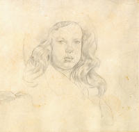 Portrait of a young girl 1, 1919