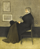 Portrait of Thomas Carlyle, c. 1880