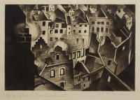 Paintings by the artist Christopher R.W. Nevinson