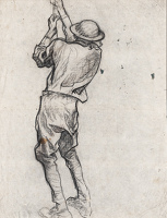 Working Soldier (Study for British...