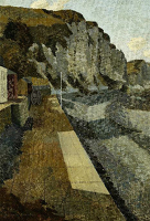 Artist Kenneth Rowntree: Promenade by the Cliffs