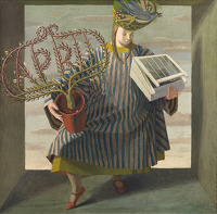 Artist Evelyn Dunbar: April,1937