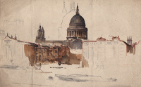 Study for St Paul's Cathedral