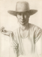 Portrait of Winnifred Knights, 1921