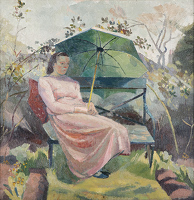 Artist Clara Cowling: Portrait of Evelyn Dunbar