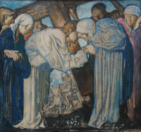 Artist Frank Brangwyn: The 4th Station: Jesus Meets His Mother
