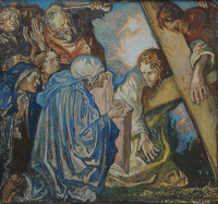 Artist Frank Brangwyn: The 6th Station: Veronica Wipes the Face of Jesus