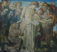 Artist Frank Brangwyn: The 10th Station: Jesus is Stripped of His Garments