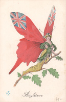 Artist French School: French postcard - Angleterre