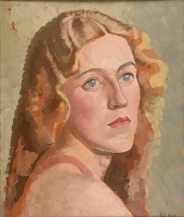 Artist Harold Williamson: Stella, 1930s