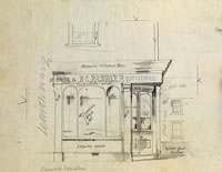 Artist Kenneth Rowntree: R.C. Pashler, Bakers and Confectioners, Clare, Suffolk