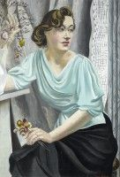 Artist Mary Adshead: Portrait of Daphne Charlton, c. 1935