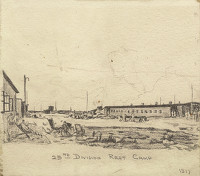 Artist William Hugh Duncan Arthur: 23rd Division Rest Camp 1917