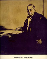 Artist William Nicholson: President McKinley, 1901