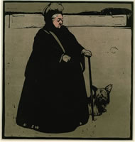 Artist William Nicholson: Queen Victoria, 1899