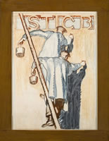 Stic B, Design for a poster, 1920's