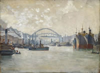 Wear Bridge Sunderland, circa 1930
