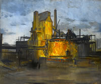 Study for a painting of the Steel...