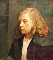 Portrait of a Young Girl - circa 1925