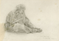 Study of a seated woman for The...