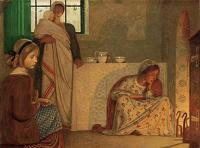 Paintings by the artist Frederick Cayley Robinson