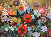 Paintings by the artist Cedric Morris