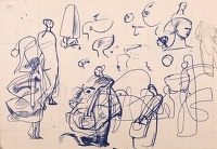 Sketches of women