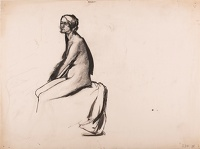 Study of a seated model