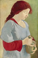 Rose, with mortar and pestle, 1919