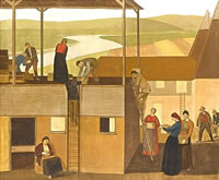 Artist Winifred Knights: Design for Wall Decoration, circa 1918