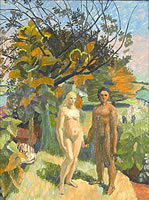 Adam and Eve in the Garden of Eden