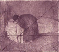 Child in Bed, 1929