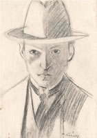 Self portrait, c.1920