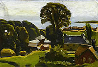 Farmhouses near Swanage, 1926