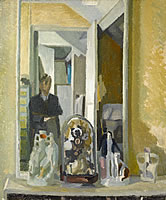 Self-portrait, Ambleside, 1941