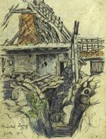 Haunted House, Observation Post, 1916