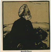 Artist William Nicholson: Henrik Ibsen